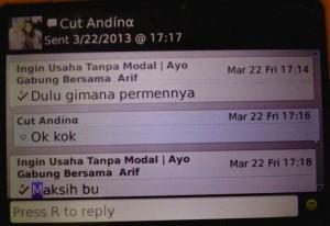 Cut Andina